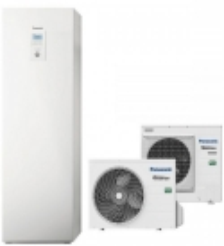 Panasonic Aquarea 3,2 kW 185l su 3 kW el. tenu WH-ADC0309J3E5/WH-UD03JE5, R32 freonas