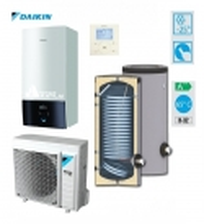DAIKIN Altherma3 7.74 kW su 9 kW el. tenu, vandens šildytuvas SWP N 200