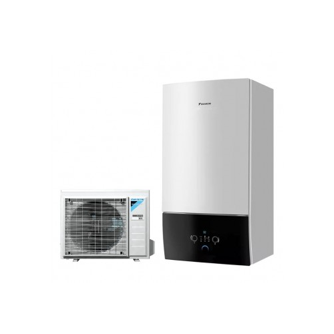 DAIKIN Altherma3 7.74 kW su 6 kW el. tenu, vandens šildytuvas SWP N 200